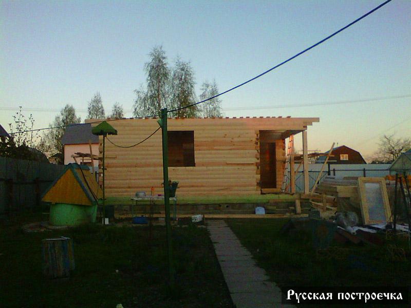 Строительство брусового дома с