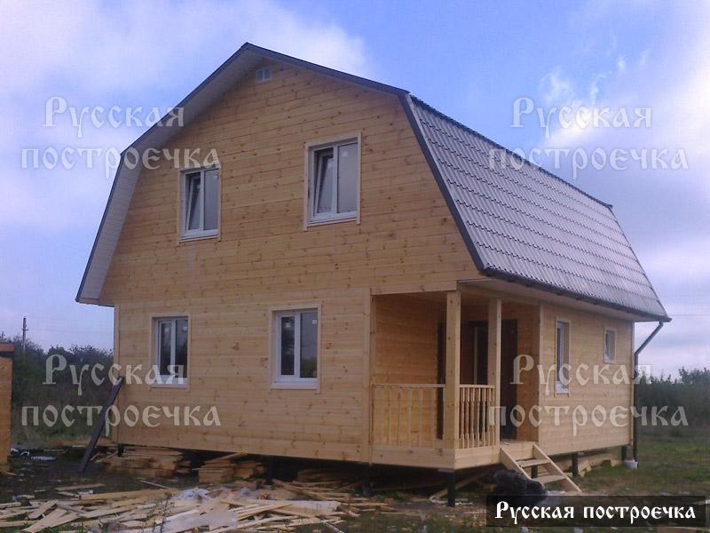 Каркасный дом 7.5х8